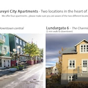 Akureyri City Apartments