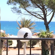 Beachfront Apartment, Argeles Beach, Exceptional View