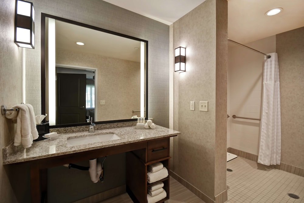 Bathroom, Homewood Suites by Hilton Pleasant Hill CA