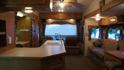 Check Expedia for Availability of Shady Rest Waterfront 5th Wheel Camper Fair Haven, NY