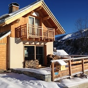 Superb High-end Chalet in Valloire - 4 Stars & 10/12 Pers - 98m2 - 4 Bedrooms