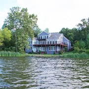 Luxury Home on Private Lake - Upper Level