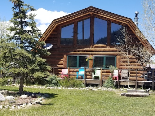 Check Expedia for Availability of Almont LOG Home Surrounded BY Outdoor Activities. Pet, Horse & Family-friendly