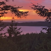 Highlands Sunset House is Located on Beautiful Orcas Island