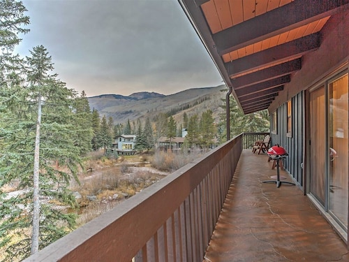 New! Vail Creekside 1BR + 1 Loft BR w/ Mtn Views!--free Shuttle to Skiing