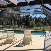 Golf Course Home With Heated Pool Close To Beach, Restaurants,stores,bike Trails
