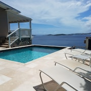 Exclusive Cruz Bay Villa! Amazing Sunsets! Private Yacht!