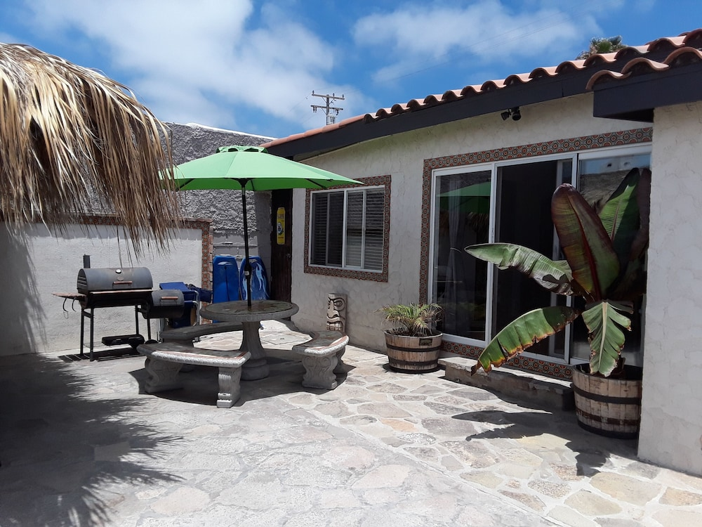 Balcony, Beach Front Casita With a lot of Charm Inside the Gated Community of La Salina