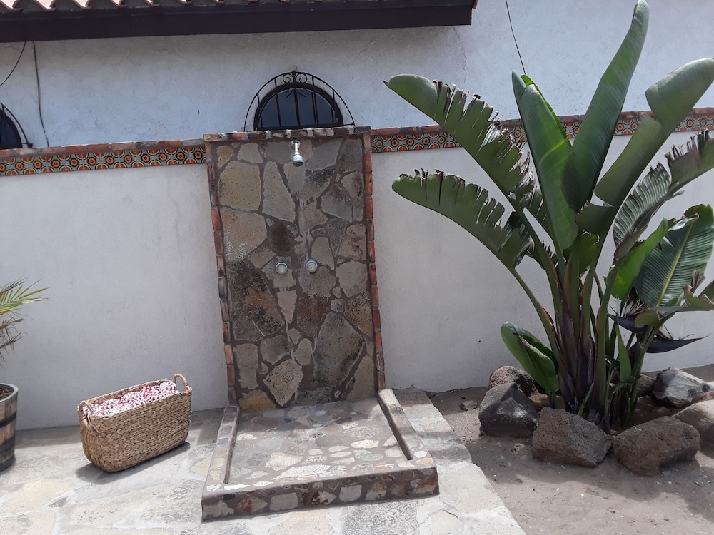 Bathroom, Beach Front Casita With a lot of Charm Inside the Gated Community of La Salina