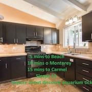 ***location*** Carmel 12 min Monterey 7 Don't Spend Your Vacation Driving! Enjoy