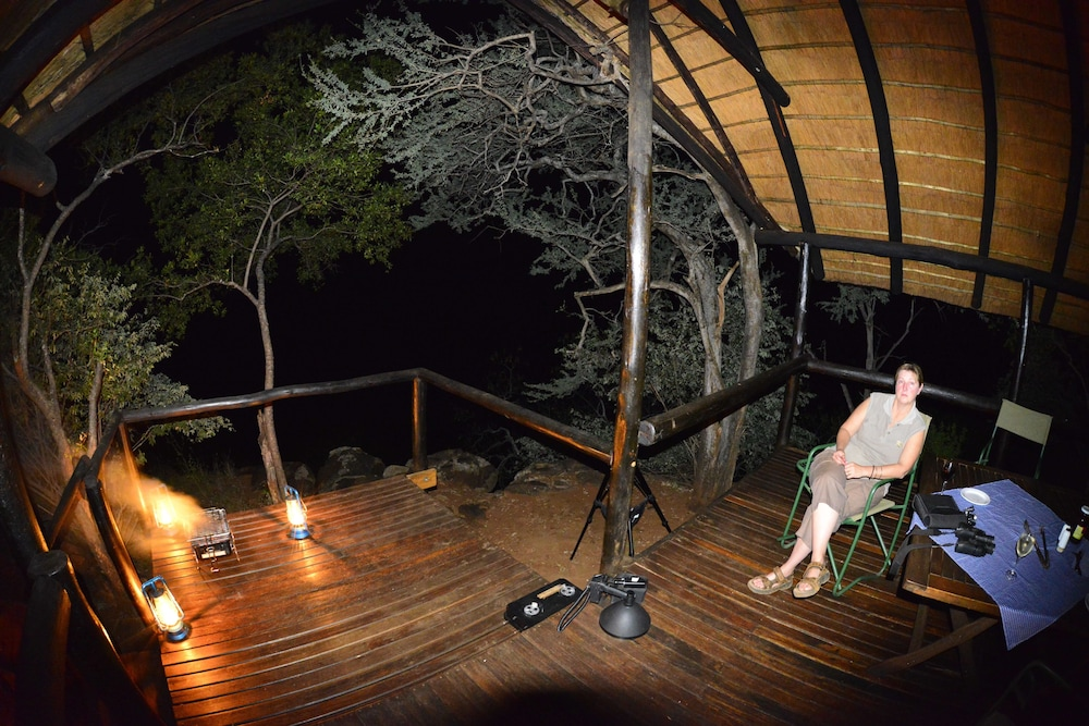 Balcony, Mutale Falls Safari Camp