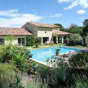 ON Land Closed 10 000m² Havre OF Peace Superb Swimming Pool 12x6 AND Beach Immergee