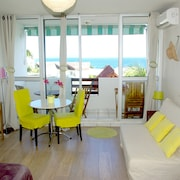Charming Studio With sea View & Sunset. 300 Meters Beach Boucan