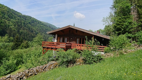Large and Beautiful Wild Cottage With Sauna Alsace