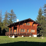 Chalet all in Wood, Nature, Crazy Charm, 1.5 km From Crans Montana
