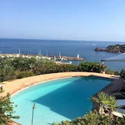 Villa With a Magnificent sea View on a Private Garden/5min Away From the Beach