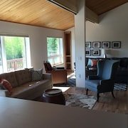 Peaceful, Secluded, Executive Quality, Spacious Home Near The Heart Of Fairbanks