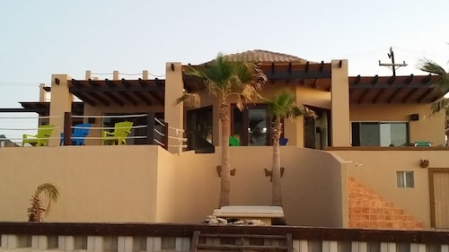 Beautiful Private Beachfront Home in Las Conchas. 3 or 4 Bedrooms Remodeled