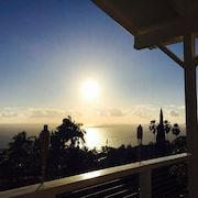 Brand New Luxury Home With Amazing Ocean View Above Kealakekua Bay Sleeps 2-8