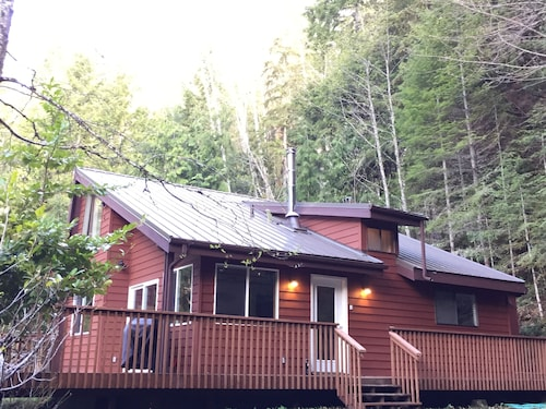 Enchanted Forest Cabin In Majestic Setting - Olympic N. P. On Your Doorstep