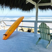 Secluded Tiki Beach House - Beach Fun, Surf, Meditate, Fish, Play or Just Relax