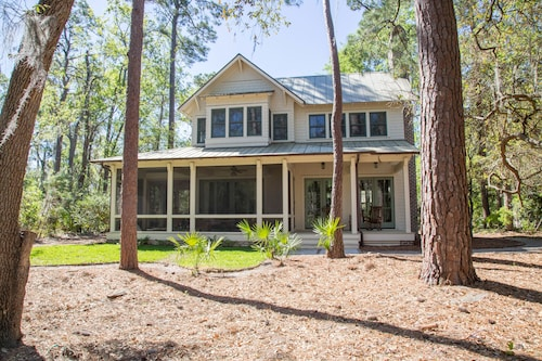 Luxury Home on Private Wooded Lot Backs Golf Course. Beautiful Location!