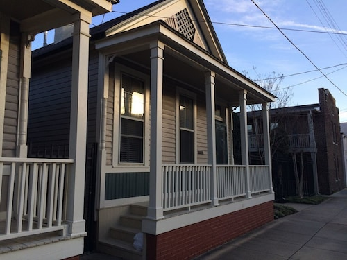 Check Expedia for Availability of Downtown Cottage in Historic South Main District With Central Hvac