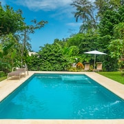 Ocean View Luxury Property With Pool in the Jungle at 300 m From the Beach