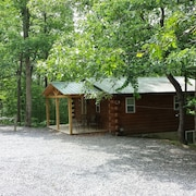 Log Cabin Located In 10 Acres Of Wooded Area & Seven Points Marina Within 5 Mile