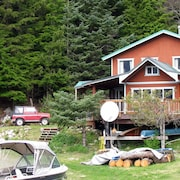 Cozy Cove Cottage - Peaceful, Secluded, Private Beach, Bbq, Washer/dryer