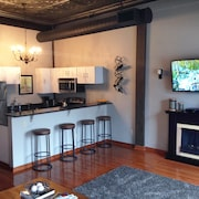 Downtown CLE #1 - Modern Condo: Walk to Conventions, Arena, Sports & Restaurants