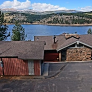 Lakeshore Villa In Nederland With Private Lake Access Ski Eldora