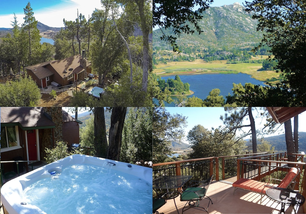 Pool, *** LUXURIOUS TREE-HOUSE***  SPA + PANORAMIC LAKE VIEW - We thoroughly Disinfect