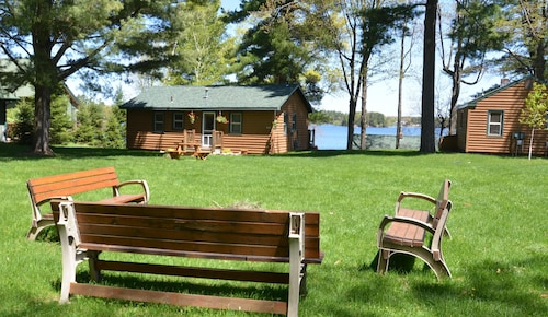 Check Expedia for Availability of North Woods Cabin on Lake Minocqua: A Perfect mix of Getaway and Access to Fun!