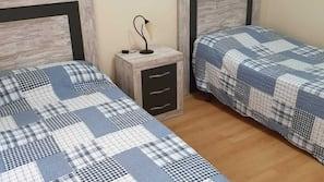 2 dormitorios y Internet