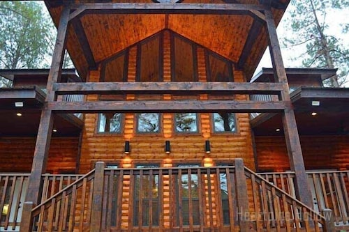 Check Expedia for Availability of 3 Bedroom 3.5 Bath-hot Tub, Inside & Out Fireplaces! Playground