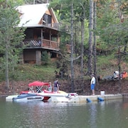Lakefront Peninsula Home - ONE of A Kind Spot! Private Dock, Pet Friendly