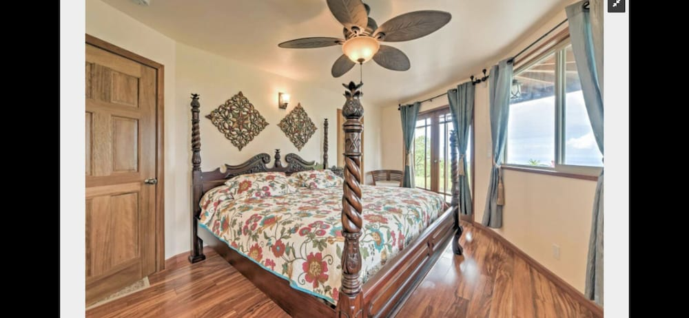 Room, Discounted! Family Getaway With Wide Ocean/mountain Views and Private Waterfall!