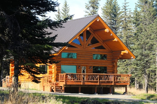 Uniquely Alaska, Real Log Vacation Homes Located On A Natural 14 Acre Homestead