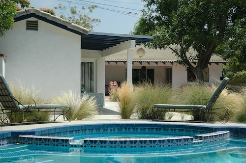 Dillard's Pool House in the Heart of What was Once Bette Davis' Country Estate
