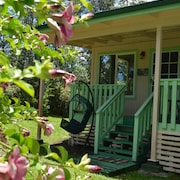 Hibiscus Cottage in Private Puna Rain Forest