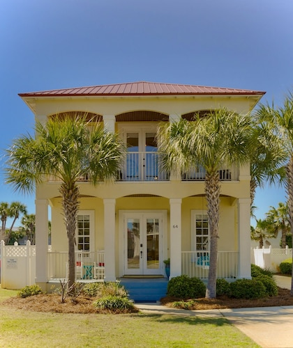 Ocean View With Private Heated Pool! 8 BR / 6.5 BA Perfect Beach Home