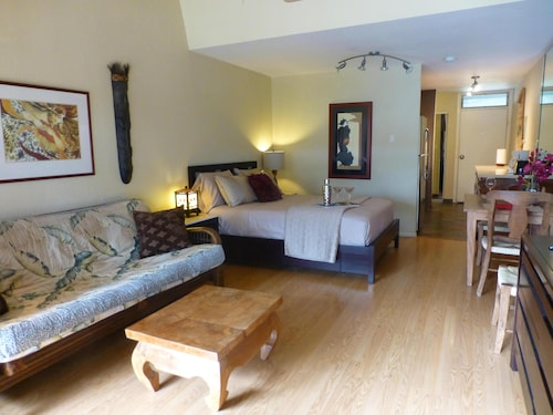 Your Private Lanai @ KBS #216 - New AC, Free Wifi/parking, Across St. From Beach