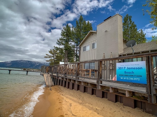 Beachfront Rental in South Lake Tahoe - Private Community ~ Duplex