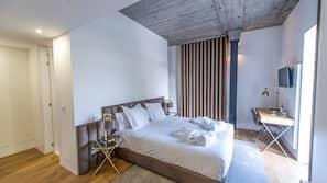 Minibar, chambres insonorisées, lits bébé (gratuits), Wi-Fi gratuit