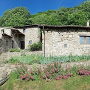 Large Stone Cottage 12 People in the Heart of Ardeche