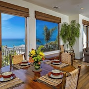 Stunning Ocean Views, Gated Luxury Home AND Short Walk TO Beach!