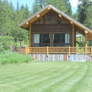 High End & Rustic-just Minutes to Glacier Great Home Base More Properties Avail