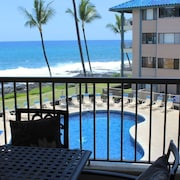Upgraded Deluxe 1 Bedroom Ocean Viewcondo, Free Wifi Internet, C Building