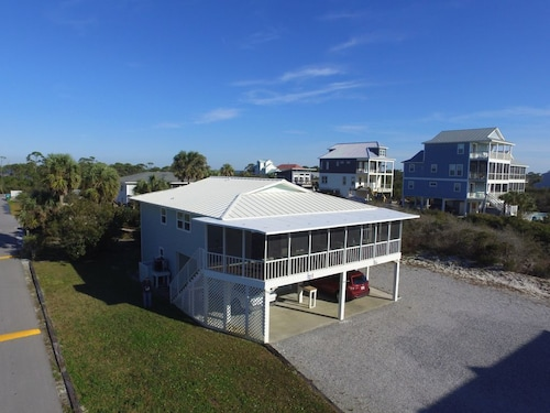 Great Gulf Views 1st Tier Screen Porch 100 Steps To The Beach